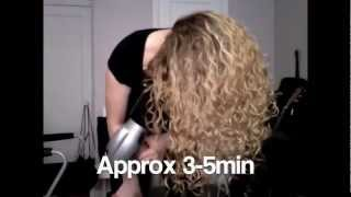 How To Style Naturally Curly Hair (complete tutorial)