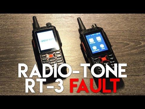 FAULTY Radio-Tone RT-3 PTT Android Radio HELP!