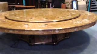 Special Table With Lazy Susan