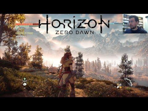 HORIZON: ZERO DAWN (PlayStation 4) - Cazando máquinas || Gameplay en Español PS4