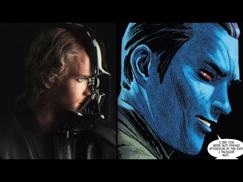 How Thrawn Trolled Darth Vader on Being Anakin Skywalker [Canon]