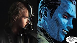 How Thrawn Trolled Darth Vader on Being Anakin Skywalker [Canon] - Star Wars Explained