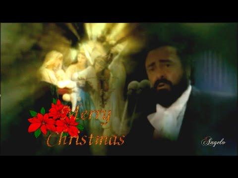 Luciano Pavarotti  Ave Maria  Merry Christmas