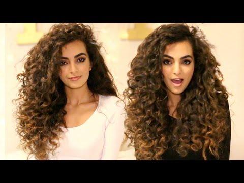 HEATLESS Curls For Long Hair Tutorial!
