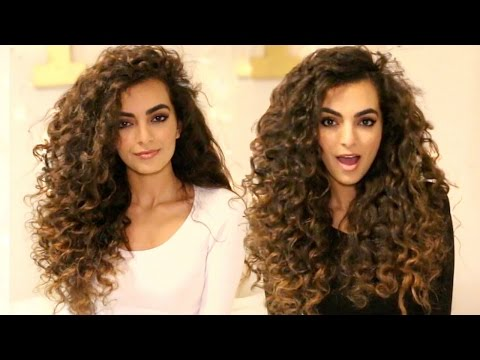 HEATLESS Curls For Long Hair Tutorial!