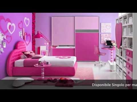 Letto Singolo Cuore, Il Letto Design per la tua Principessa! - YouTube
