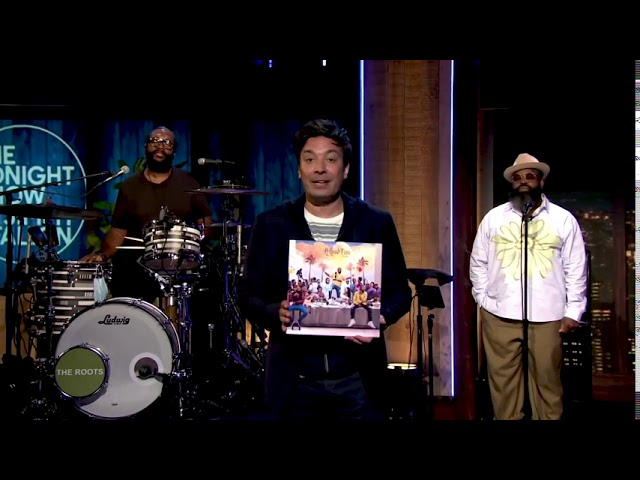 """Davido Performs A Medley of """"D&G"""" & """"Fall"""" on The Tonight Show Starring Jimmy Fallon"""