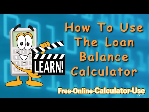 how-to-use-the-loan-balance-calculator