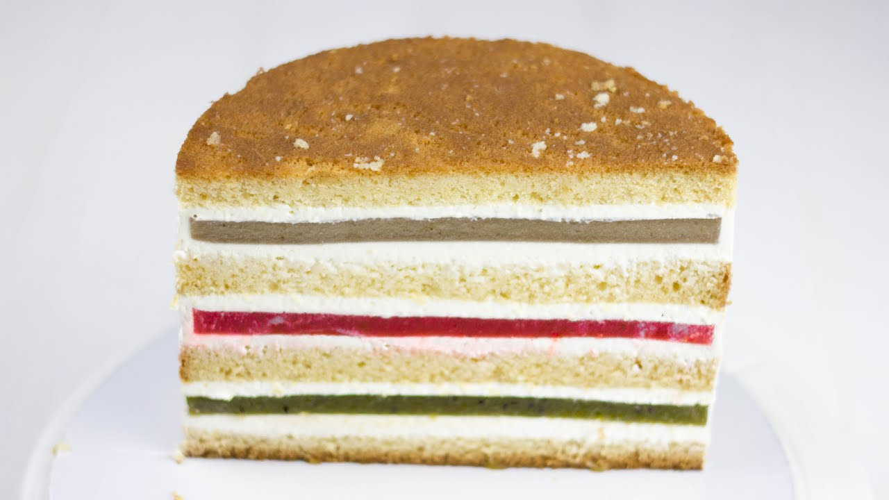 """ТОРТ """"ЯГОДНЫЙ ОСТРОВОК"""". РЕЦЕПТ ТОРТА и 3 начинки. Идеальный бисквит на желтках.  Видеорецепт торта"""