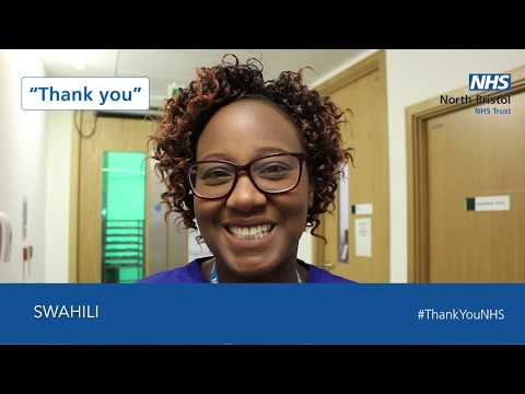 A message of thanks from staff at NBT