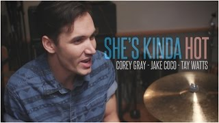 5 Seconds of Summer - She's Kinda Hot (Acoustic Cover by Corey Gray, Jake Coco & Tay Watts)
