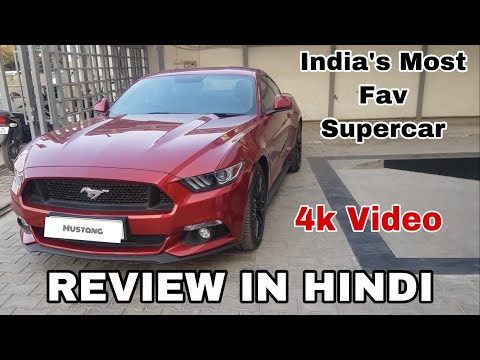 Ford Mustang GT India Detailed Hindi Review - Thank you 1000 Subscribers Special Video ❤️❤️🔥🔥