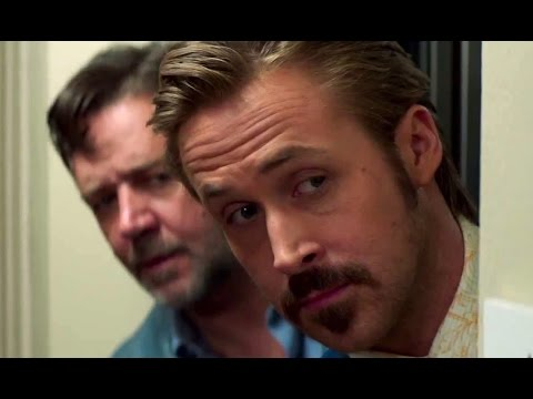THE NICE GUYS Official Red Band Trailer (2016) Ryan Gosling, Russell Crowe