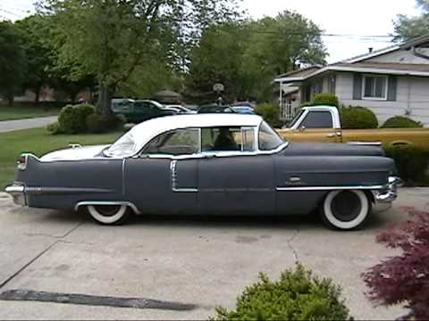 1956 Cadillac Sedan Deville First Drive - YouTube