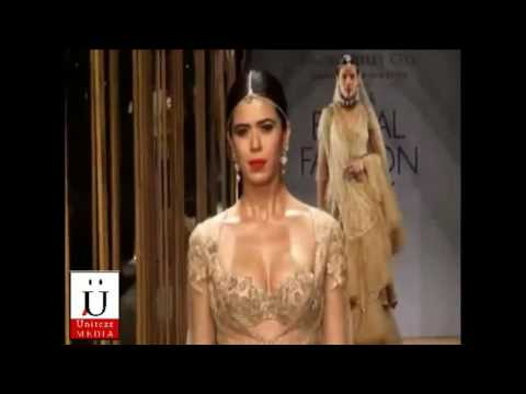 Jacqueline Fernandez Sizzles The Ramp on Aamby Valley India Bridal Fashion Week
