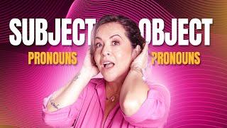 Subject Pronouns e Object Pronouns   Diferenças e Usos