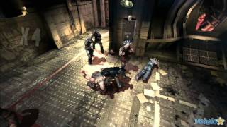 Batman: Arkham Asylum Gameplay Walkthrough pt 26 - Pursuing Scarecrow / Finding Croc