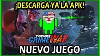 ???? PAYDAY CRIME WAR | Descargar apk Android e instalar | Tutorial en Español | Guía de instalación