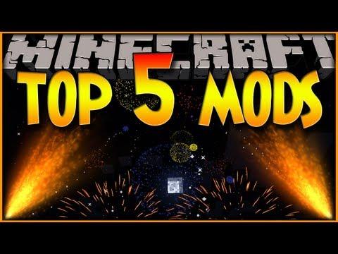 MINECRAFT: TOP 5 MODS! (1.6.2)