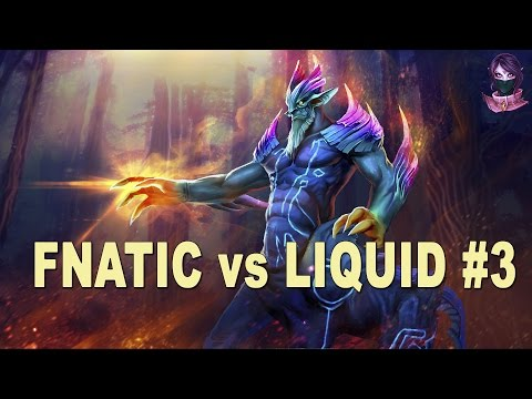 Fnatic vs Liquid #3 Highlights Manila Major Group C  Dota 2