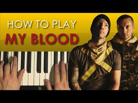 How To Play - twenty one pilots - My Blood (PIANO TUTORIAL LESSON)