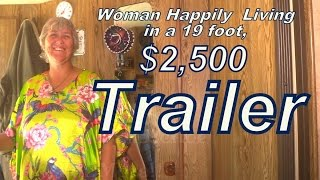 Kathy Living in a $2500 Used Trailer. thumbnail