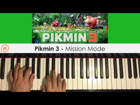 Pikmin 3 - Mission Mode (Piano Cover) | Patreon Dedication #132