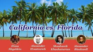 Калифорния vs Флорида: Сравнение жизни #1