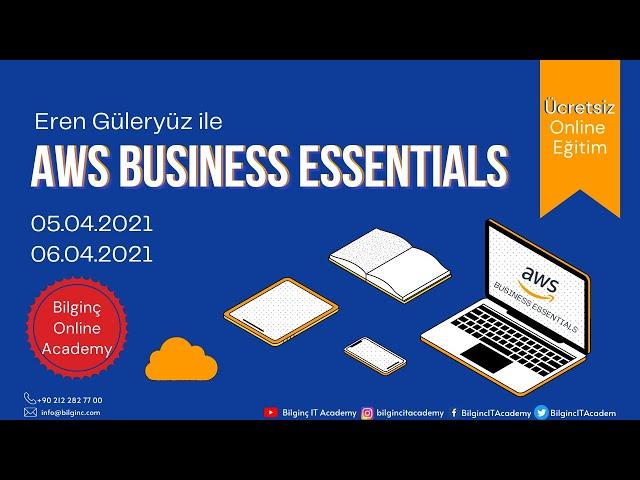 AWS Business Essentials - Part 1 (05/04/21)