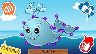 Aquatic Animals Dots Game for Kids