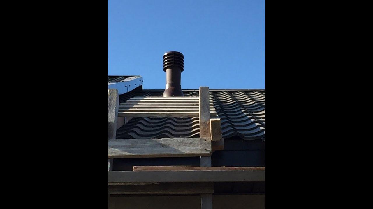 установка грибка вентиляции на крыше самостоятельно