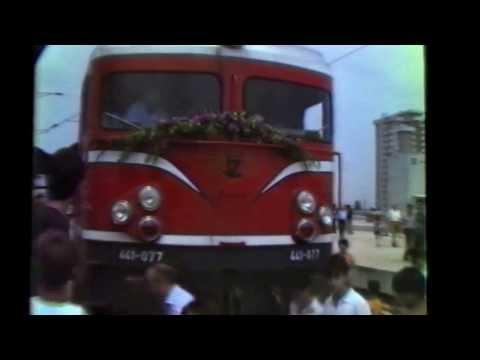 27.7.1981 СВЕЧЕНО ОТВОРАЊЕ НА НОВАТА ЖЕЛЕЗНИЧКА СТАНИЦА ВО СКОПЈЕ