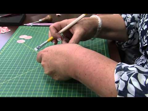 Mulher.com 12/11/2014 - Flores em Scrap para Decoração por Ana Gomes - Parte 2