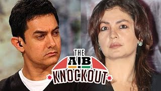 Pooja Bhatt Calls Aamir Frightening, Injurious | AIB KNOCKOUT CONTROVERSY