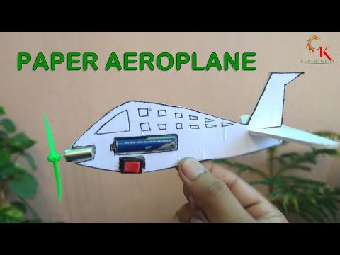 How to make a paper aeroplane-Best paper Flying plane