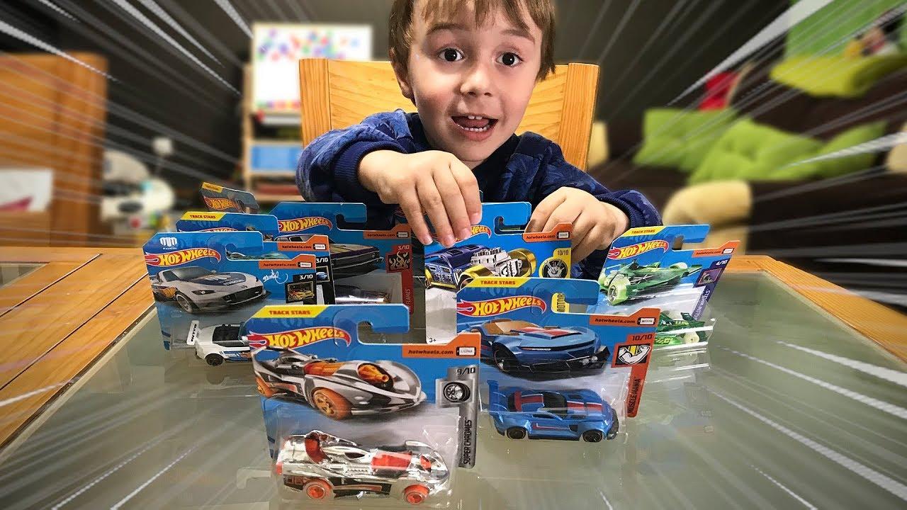 Novos Carrinhos Hot Wheels Colecao De Carros De Brinquedo