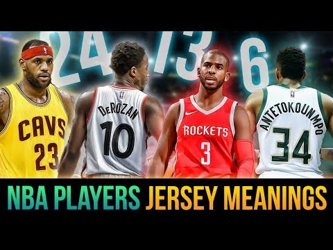 Why NBA Superstars Chose Their Jersey Number! Lebron, Giannis, DeRozan & More