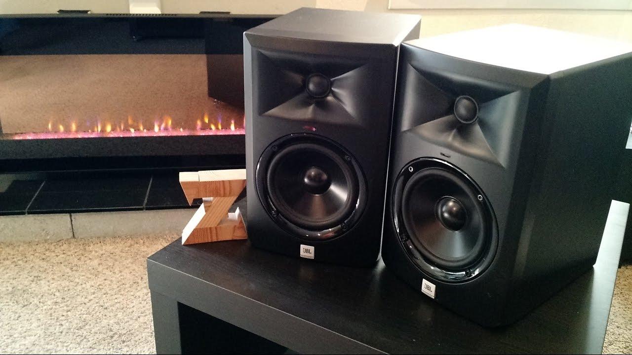 JBL LSR305 Black