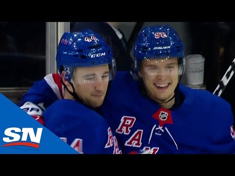 New York Rangers Score Twice In Just 19 Seconds Against Buffalo Sabres