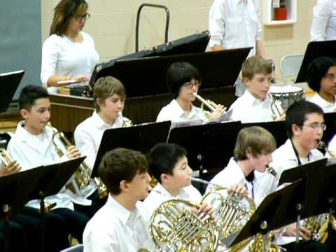 """North Whidbey Middle School Band """"Northpointe Fanasy"""" (2nd of 2 parts)"""