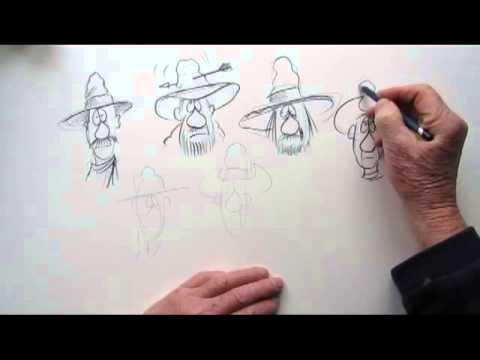 HOW TO DRAW COWBOY HATS AND EXPRESSIONS