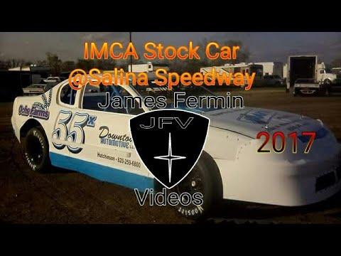 IMCA Stock Cars #8, Heat, Salina Speedway, 2017