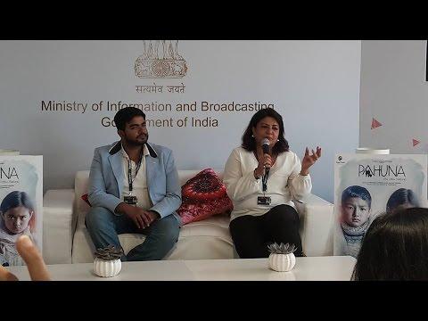 Madhu and Siddhartha Chopra at Cannes for Pahuna