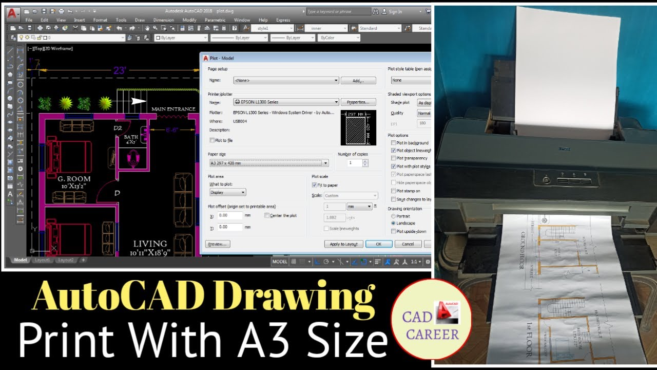 Creating JPEG and PNG files from AutoCAD drawings