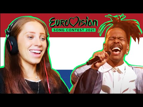 REACTING TO THE NETHERLAND'S SONG FOR EUROVISION 2021 // JEANGU MACROOY // BIRTH OF A NEW AGE