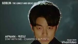 Cover images Stay With Me - Chanyeol&Punch (Goblin Ost) My Design