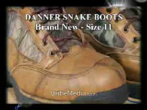 Danner Snake Boots Hd Camo Size 11 New In Box Youtube