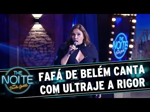 The Noite (14/03/16) - Exclusivo: Fafá De Belém Canta Com Ultraje A Rigor