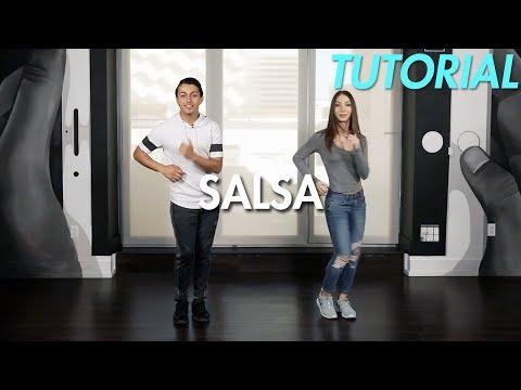 How To Salsa: Basic Cucaracha Salsa Step (Ballroom Dance Moves Tutorial) | MihranTV