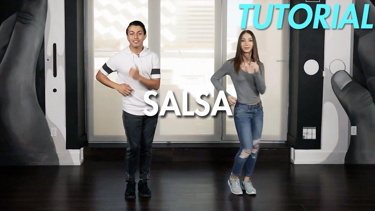 How To Salsa  Basic Cucaracha Salsa Step  Ballroom Dance